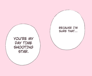 manga, quotes, and pink image