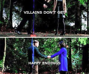 once upon a time, belle, and regina mills image
