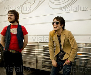 brendon urie, panic at the disco, and spencer smith image