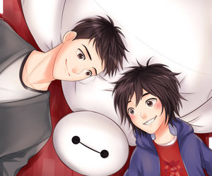 disney, big hero 6, and hiro hamada image