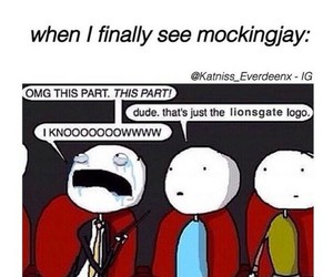 mockingjay and hunger games image