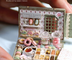 cute, sweet, and food image
