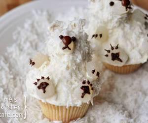 cupcake, Polar Bear, and bear image