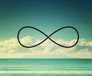 infinity, beach, and ocean image
