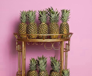 pineapple, pink, and food image