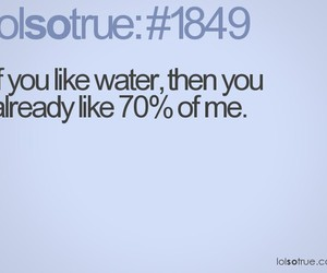 funny and water image