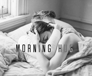 couple, in bed, and morning image