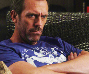 dr house and hugh laurie image