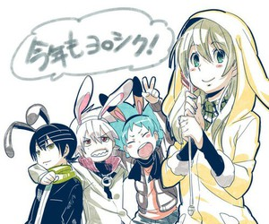 soul eater, black star, and death the kid image