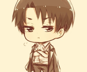 levi, anime, and chibi image