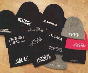 hat, beanies, and salute image