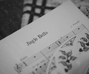 christmas, jingle bells, and music image