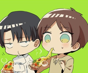 levi, snk, and attack on titan image