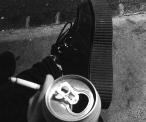 addiction, alone, and beer image