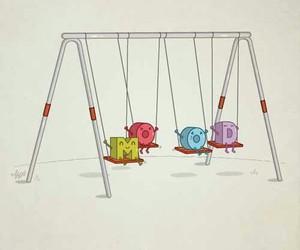 mood, funny, and mood swings image