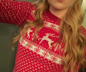christmas, red, and jumper image