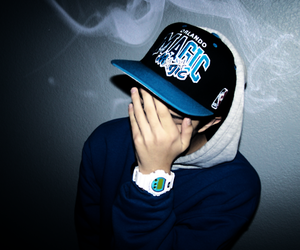 boy, swag, and smoke image