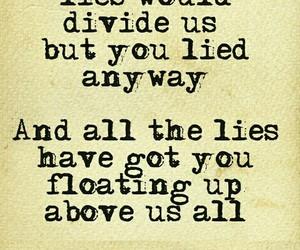 lies, Lyrics, and phrases image