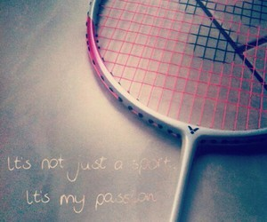 badminton, passion, and sport image