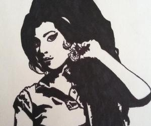 amy, Amy Winehouse, and art image