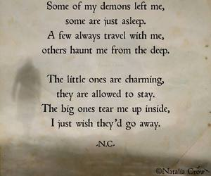 Darkness, demons, and heart image