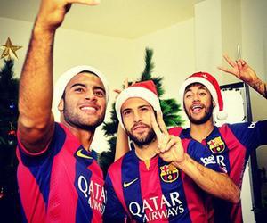 christmas, neymar, and rafinha image