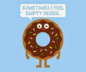 donuts, empty, and funny image