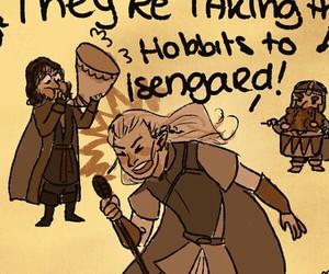Legolas, youtube, and hobbits image
