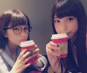 japanese girls, starbucks, and kawaii image