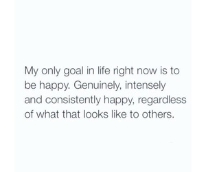 happy, goals, and life image
