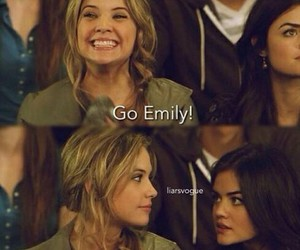 hanna, aria, and emily image