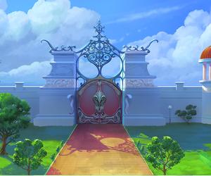 door, drawing, and fantasy image