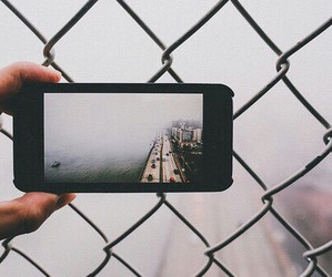 fogg, iphone, and grunge image