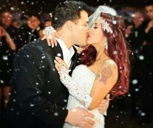 couple, wedding, and jersey shore image