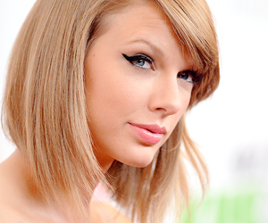 eyes, hair style, and lips image