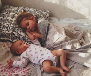 baby, sleep, and child image