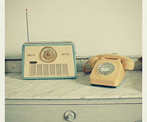 phone, vintage, and photography image
