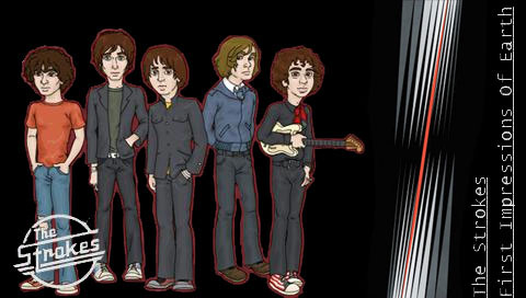 Psp Wallpapers The Strokes Funny Psp Wallpaper Free For
