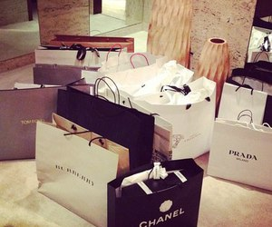 chanel, Prada, and shopping image