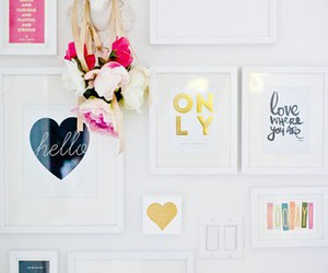 decor, love, and home image