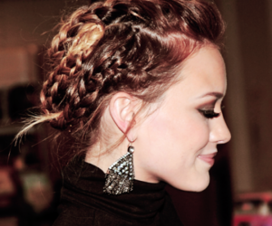 Hilary Duff, hair, and braid image