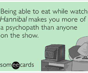 psychopath and we love hannibal image