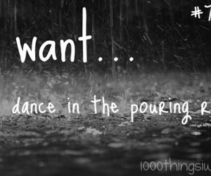 dance, 1000 things i want, and feeling image
