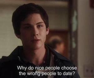 quotes, logan lerman, and date image