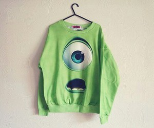 green, monster, and sweater image