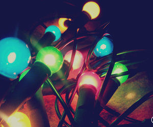 cute and lights colorful image
