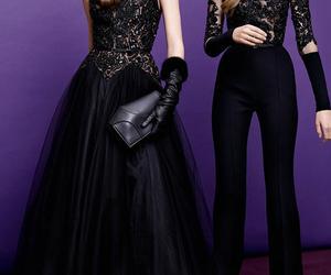 fashion, elie saab, and black image