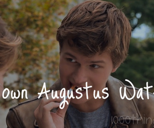 true love, tfios, and augustus waters image