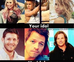 idol and supernatural image