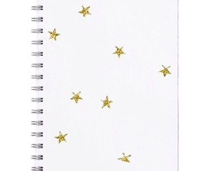 edit, notebook, and stars image